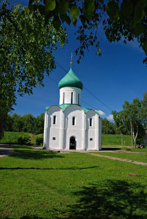 saintliness: Old orthodox church, Pereyaslavl, Russia Stock Photo