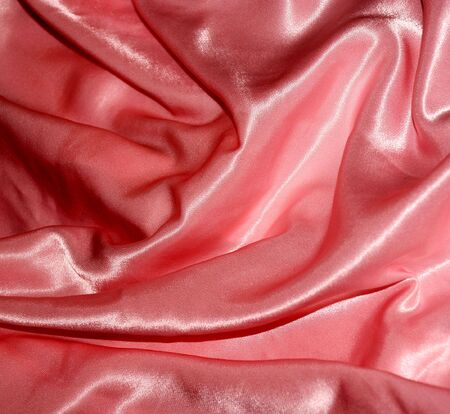 creases: Rose silk
