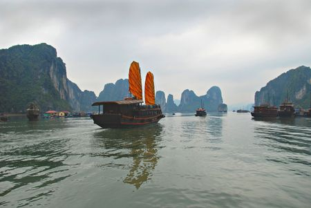 fishman: Halong bay, Vietnam