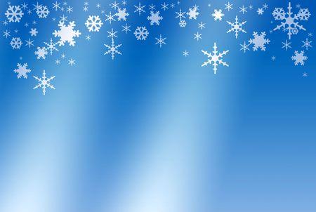 Winter background, illustration illustration