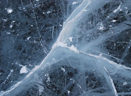 Ice - texture photo