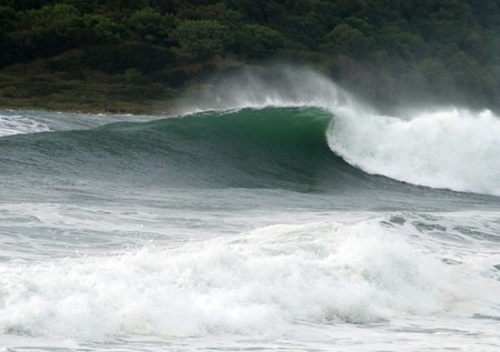 granola: Roller, gran ola, el mar tormenta