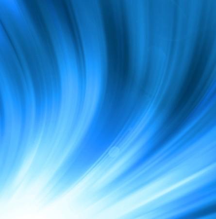 sheeny: Blue shine - abstract background Stock Photo