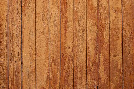 Old wall, wooden planks - texture