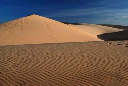 Sand desert, dune photo