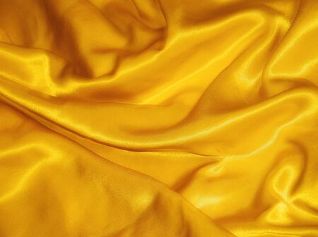 Yellow silk photo