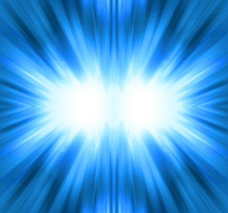 sheeny: Blue shine - abstract background Stock Photo