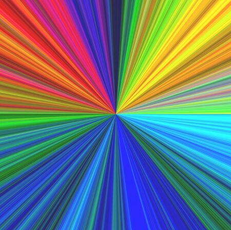 irradiation: Different colors, infinity