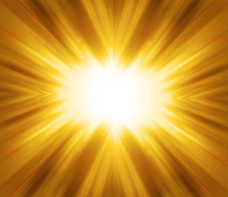 照らす: 黄金の輝き - 抽象的な背景 写真素材