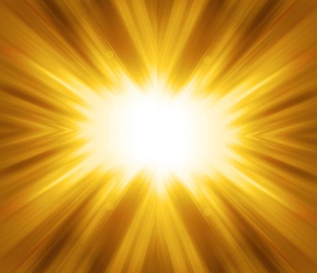 Golden shine - abstract background Stock Photo - 7440817