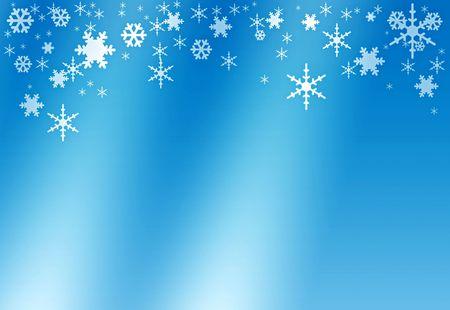 Snowflakes, postcard, illustration, winter background illustration
