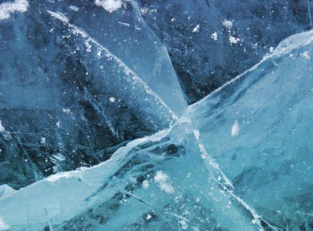 liquid crystal: Ice - texture Stock Photo