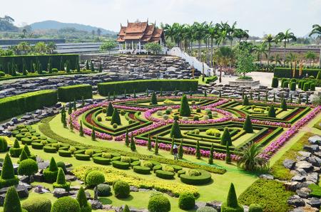 파타야 농눅 열대 정원, 태국, 공식적인 정원