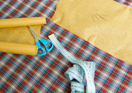 kit de costura: sewing, sewing clothes, sewing clothes tools, sewing workshop Foto de archivo