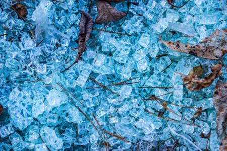 glass texture: Broken glass texture