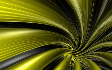 Abstract background of the yallow line with reflections Фото со стока