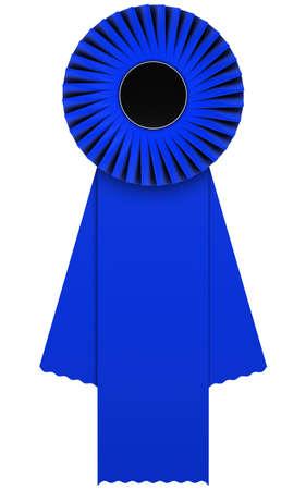velvet ribbon: blue rosette