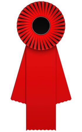 red rosette photo