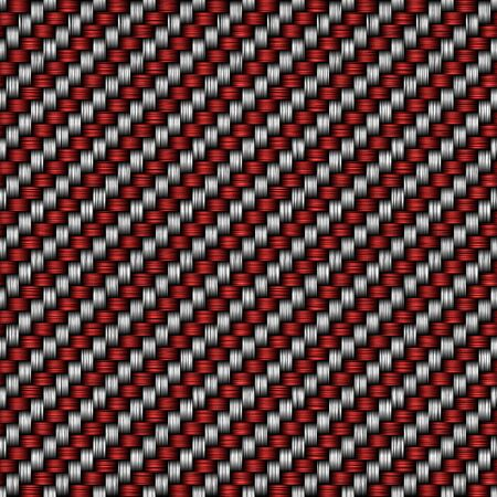 red fiber texture photo