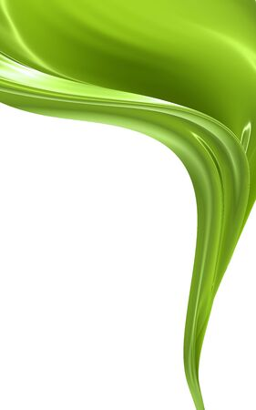 green lines: Abstract background Stock Photo