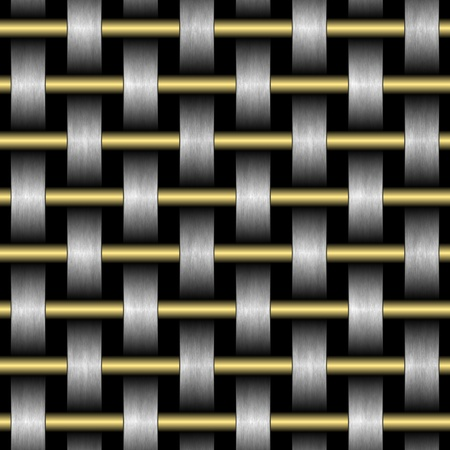 texture of abstract grid on a black background