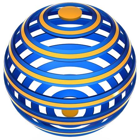 An abstract logo Фото со стока