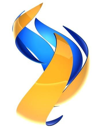 logos empresas: Composici�n abstracta