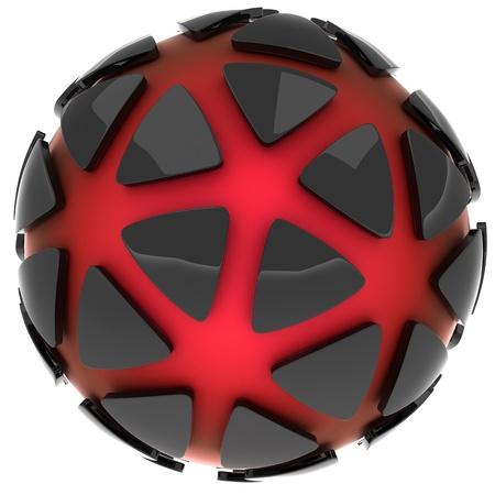 An abstract logo photo