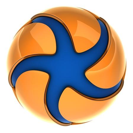 logotipo abstracto: Un logotipo abstracto