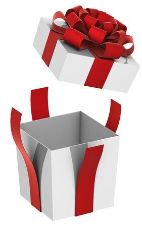 christmas present box: Christmas Present  box  with Bow
