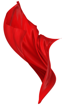fabric painting: Abstract red background Stock Photo