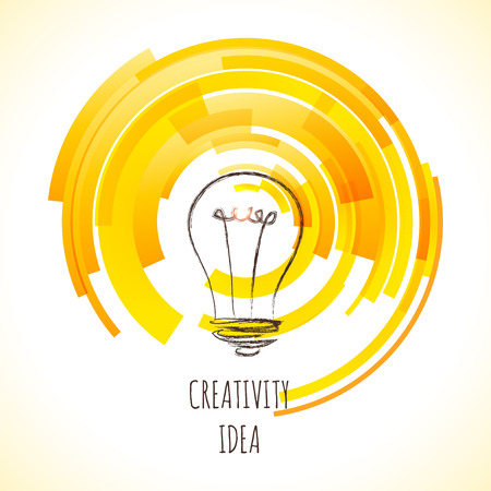 loading creativity. symbol of creative business visions