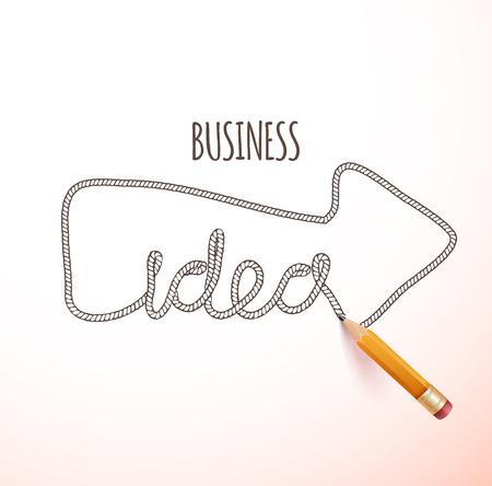loaded: Creative idea loaded, vector concept for inspiration Illustration