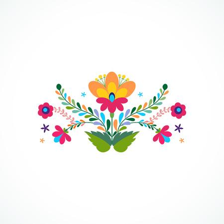 Beautiful invitation design ornament. page template
