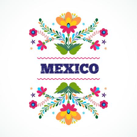 florale: Schöne Einladung Design Ornament. Seitenvorlage Illustration