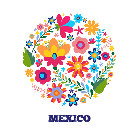 Unikalna koncepcja kwiatowy w salonie kosmetycznym, organicznych kosmetyków marki, kwiaciarni. Unikalna koncepcja kwiatowy wzór w salonie kosmetycznym, organiczne kosmetyki marki, kwiaciarnia Ilustracje wektorowe