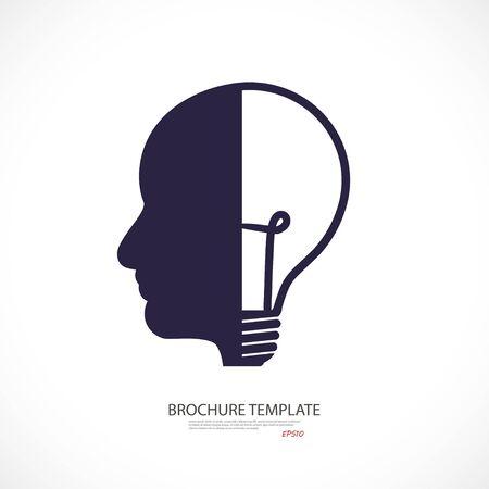 head lamp - business concept. idea