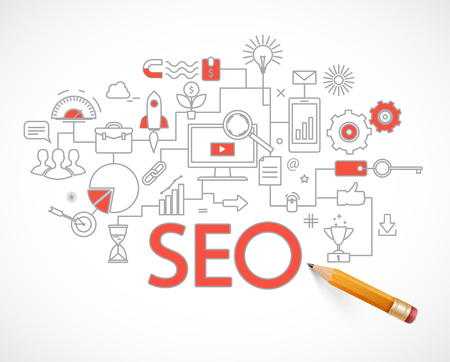 Analytics search information and website SEO optimization