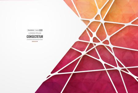 sencillez: Retro label design illustration for business presentation.