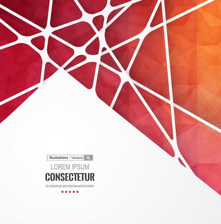 Retro label design illustration for business presentation.