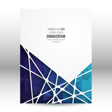 Retro label design. Vector illustration for business presentation Illustration