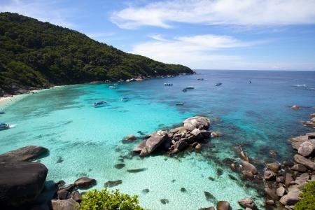phuket province: Similan Islands Andaman Sea