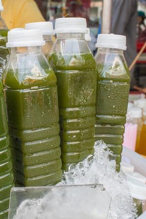 Ice Cold Juice Bottles  photo