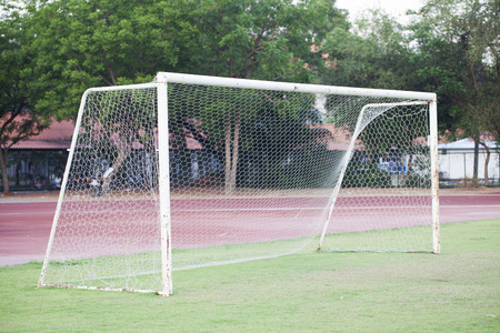 Soccer Goal or Football Goal Stock Photo - 28298502