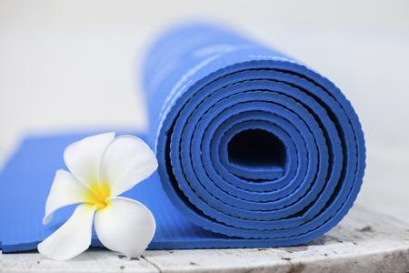 yoga mat  photo
