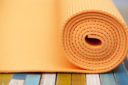 yoga mat photo