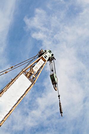 maneuverable: auto crane