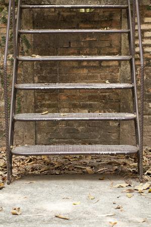 Old step ladder  photo