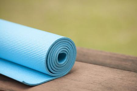 Yogamat Stockfoto - 30071825