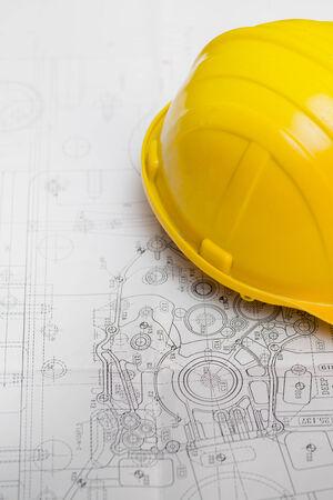 Engineer safety helmet photo